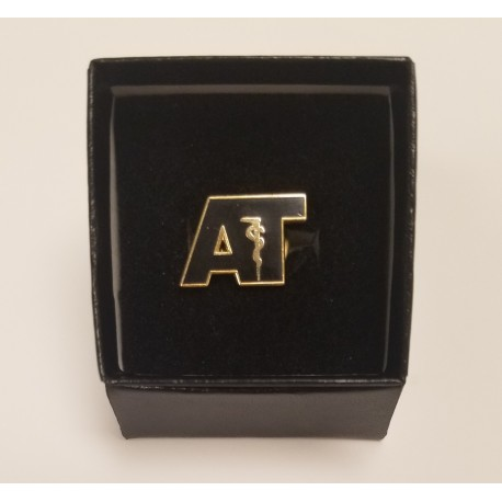 AT Lapel Pin - Black