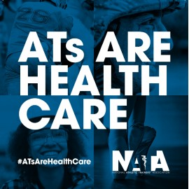 ATs are Health Care Notebook